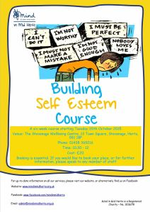 Self esteem course_Stevenage_October 15