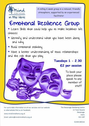 Emotional Resilience group_Stevenage