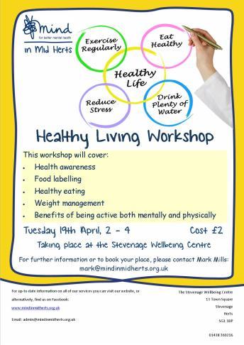 Healthy living workshop_Stevenage_April_2016