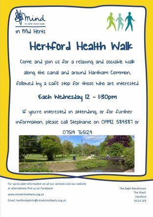Hertford Walking Group Poster - Jpg