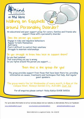 PD carers support poster